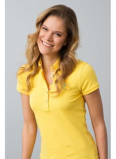 U.S.Polo Assn. Tişört Sarı